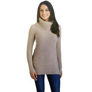 Hilary Radley cowl neck sweater size M